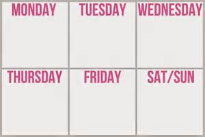 blank 6 week calendar template blank 6 week schedule calendar template 2016
