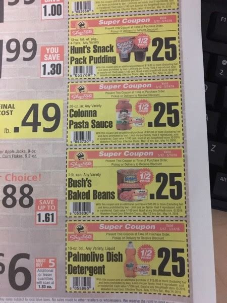 the times money section money saving grocery store coupons in today s tu