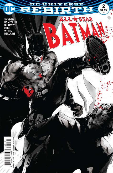 all star batman 2016 vol exclusive preview all star batman 2