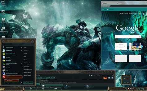 Themes For Windows 7 League Of Legends | lol windows 7 custom theme league of legends lol