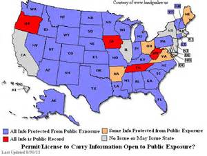 Virginia Concealed Carry Reciprocity Map by West Virginia Concealed Carry