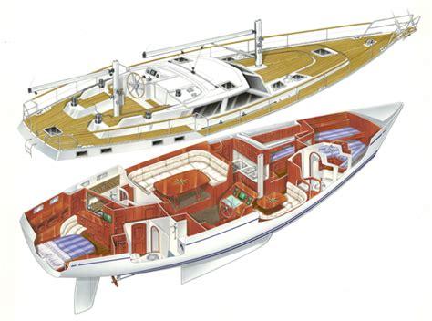 interni di barche a vela nauticat 525 per attraversare tutti gli oceani yacht e vela