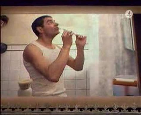johnny english song bathroom johnny english does your mother know bathroom scene