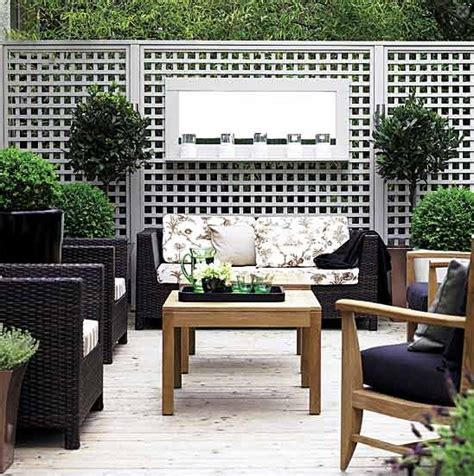 Terrace Accents Garden Accessories Open Air Breakfast Design And Decoration Ideas For
