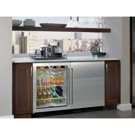built in beverage center sub zero uc 24bg s ph lh 24 quot built in undercounter beverage center classic stainless left
