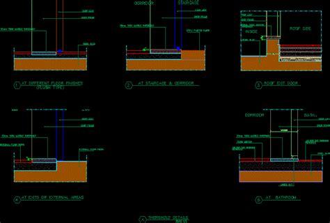 Threshold Details DWG Detail for AutoCAD ? Designs CAD