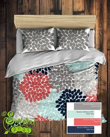navy and teal bedding best 25 coral bedspread ideas on pinterest grey bed