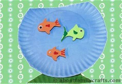 Paper Fish Bowl Craft - fish bowl paper plate craft allfreekidscrafts