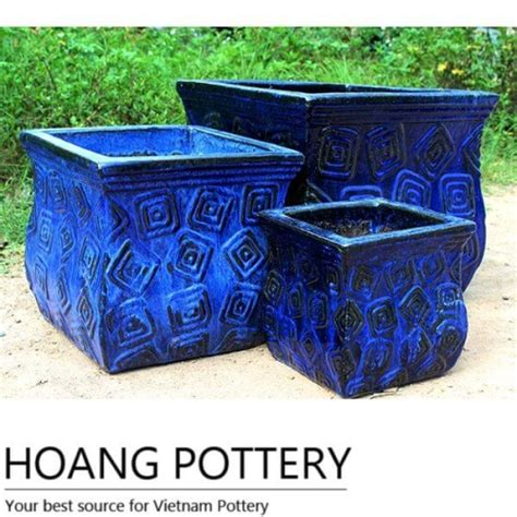 ceramic planter pots foot shape ceramic glazed pots outdoor hpo1228 hoang