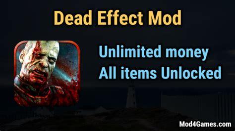 game offline mod unlimited money dead effect game mod apk with offline obb data archives