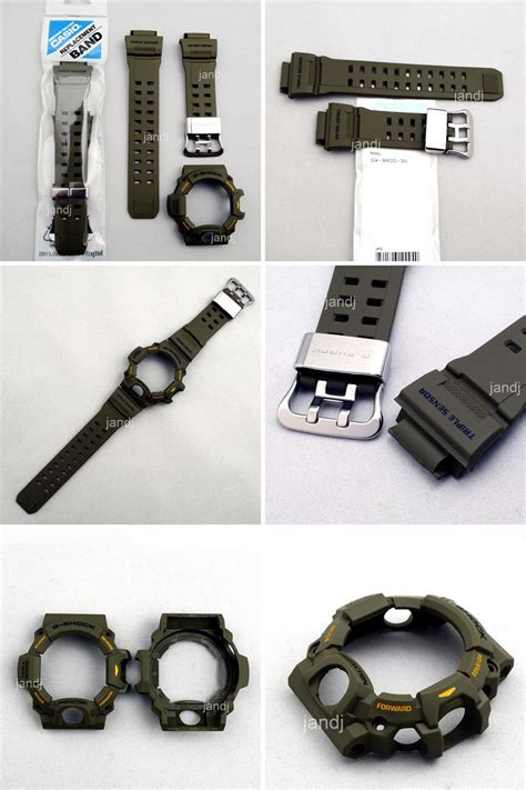 Band And Bezel Gshock Rangeman Gw 9400 Clear Smoke Black original casio g shock replacement band bezel gw9400 3