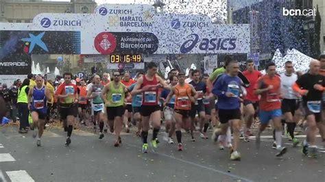 barcelona half marathon the zurich barcelona marathon and the edreams barcelona