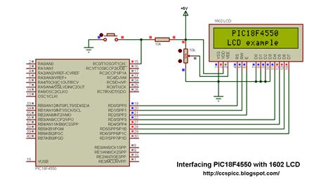 tutorial ccs c pic18f4550 interfacing with lcd using ccs pic c compiler