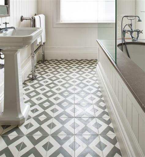 period bathroom tiles period styled bathroom with geometric tile flooring