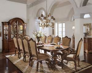 javascript seems to be disabled in your browser american drew bob mackie 7 piece oval dining room set in