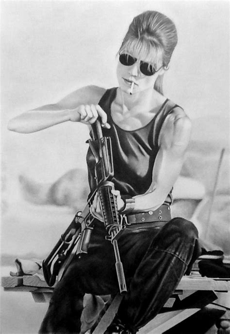 No fate but what we make... Sarah Connor by Statham75 on