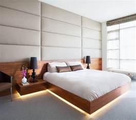 Bright Bedroom Lighting 9 Bedrooms With Beds That Feature Hidden Lighting This