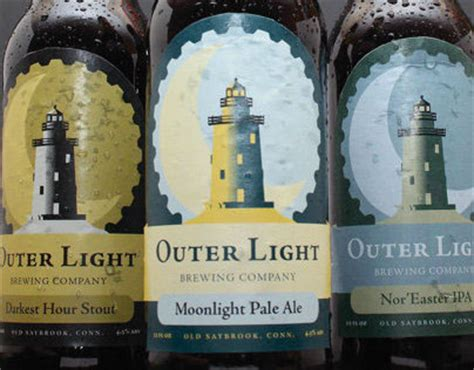 Outer Light Brewing Company by Outer Light Brewing Company On Behance