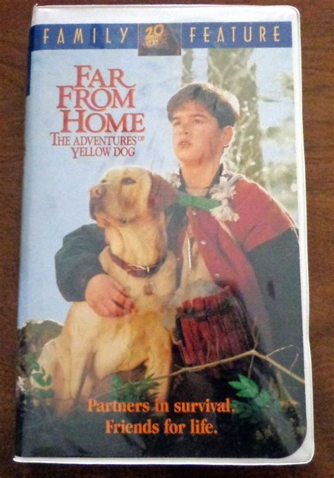 far from home the adventures of yellow vhs 1995