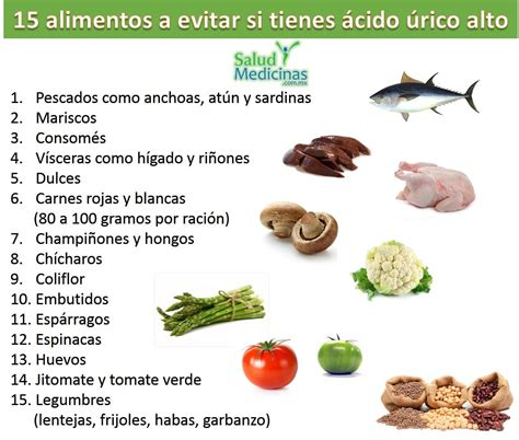 qu 233 alimentos evitar si tienes 225 cido 250 elevado sym - Alimentos Para Acido Urico