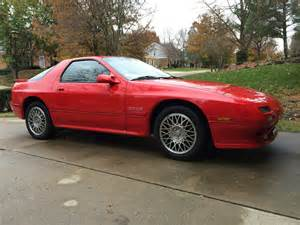 1989 mazda rx7 gtus the about cars