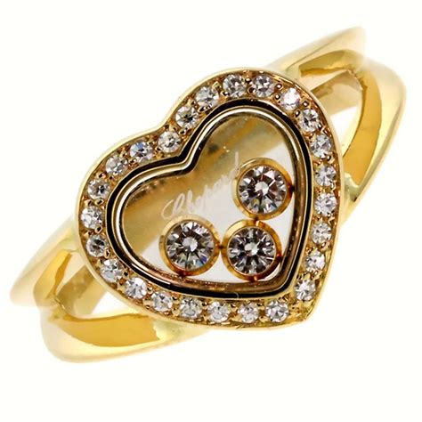 chopard happy gold ring for sale at 1stdibs
