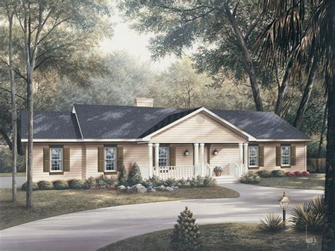 ranch house plans with front porch brightmoore country ranch home plan 001d 0024 house