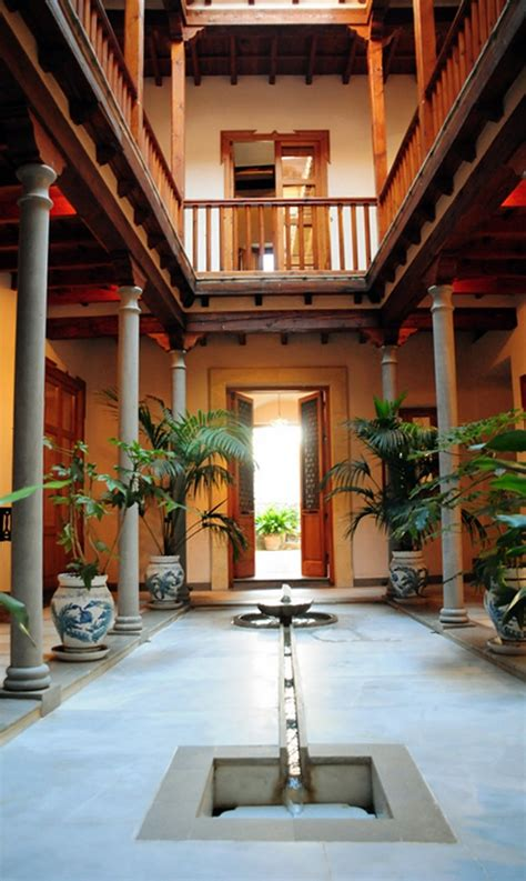 indian traditional house designs with courtyard patio the run and dining sets on pinterest