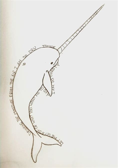 narwhal tattoo ismfof narwhal draft by minoritsuki on deviantart