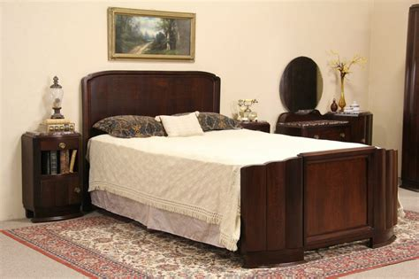 1930 bedroom sets sold art deco 1930 vintage bedroom set queen bed