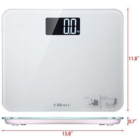 non digital bathroom scales usa ollieroo bathroom scale large readout 400lb precision