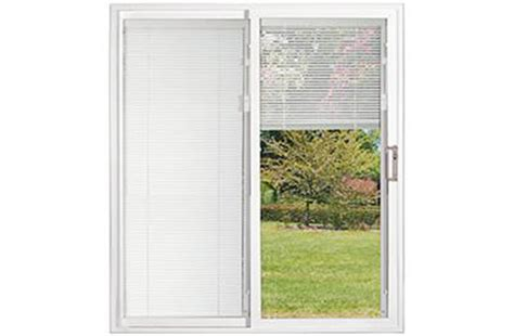 Sliding Glass Doors With Blinds Built In Sliding Patio Doors With Built In Blinds Plan Spotlats