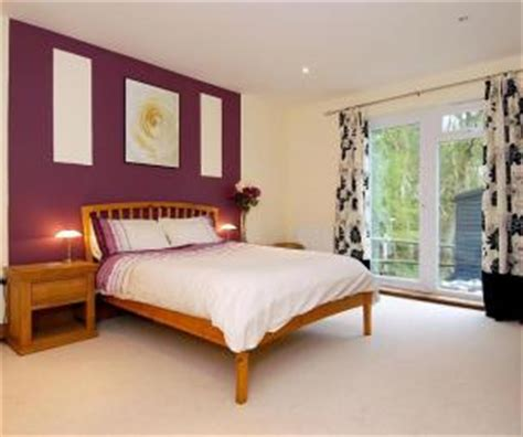 Purple Feature Wall Bedroom by Feature Wall Bedroom Design Ideas Photos Inspiration