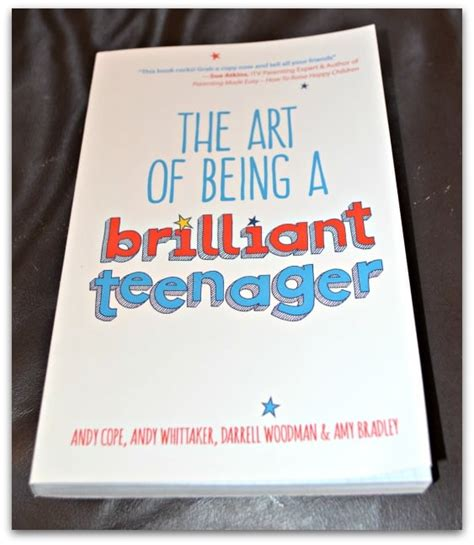 art of being a the art of being a brilliant teenager review stressy mummy