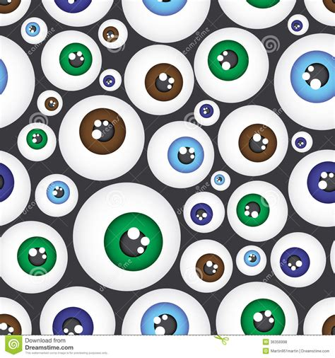 video eye pattern simple color eyes pattern eps10 royalty free stock photos