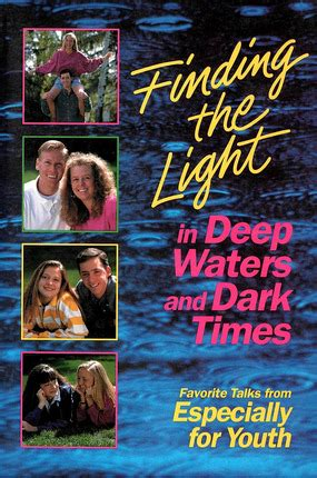 finding the light books finding the light in waters and times deseret book