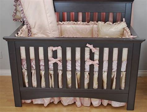 Satin Crib Bedding by 17 Best Images About Pink In The Nursery On
