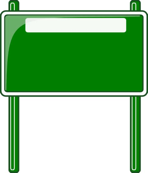 sign clipart high way sign clip at clker vector clip