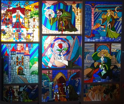 la e la bestia vidrieras artesanas la y la bestia