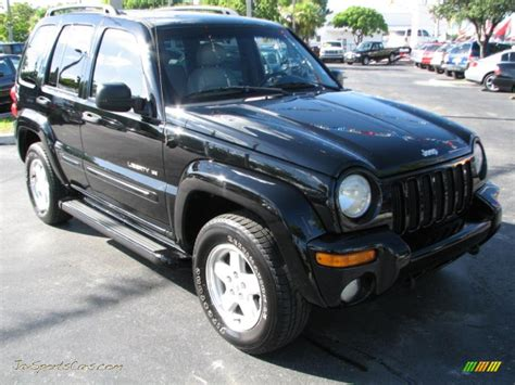 black jeep liberty 2002 2002 jeep liberty limited 4x4 in black 175553 jax