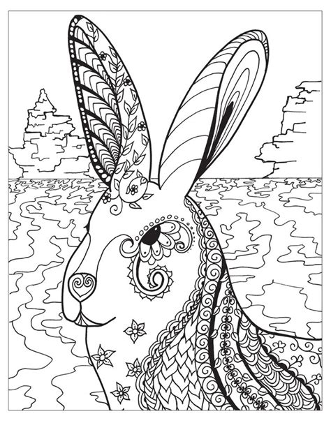 1072 best adult colouring animals zentangles images on