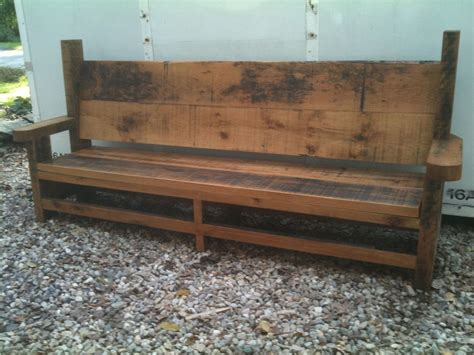 Handmade Benches - handmade outdoor bench by brenda wood design