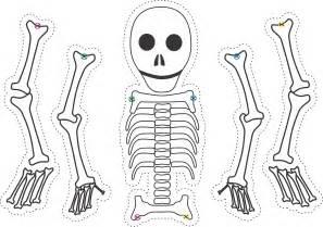skeleton template ten spooky skeletons by hegarty rusling