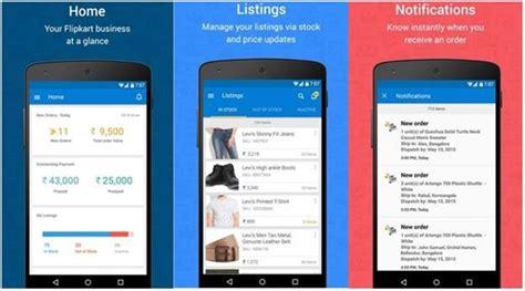 mobile seller app flipkart s seller hub app launched exclusively for sellers