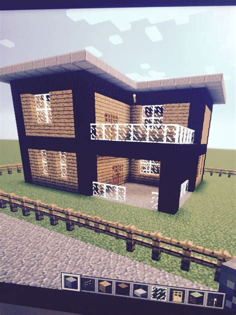 easy house in minecraft cute easy house 8 of my world minecraft furniture pinterest wool black wool