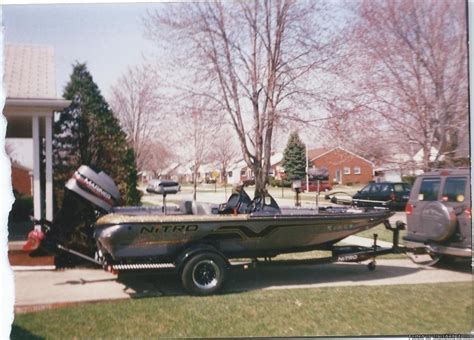 1997 nitro bass boat seats 1997 nitro bass boat boats for sale