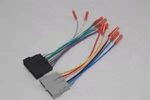 radio wiring harness adapter with connectors for ford 1770 ebay