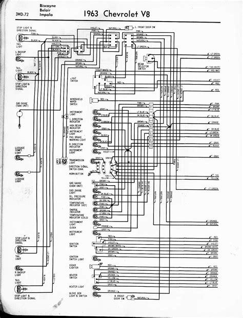 63 impala wiring diagram 57 65 chevy wiring diagrams