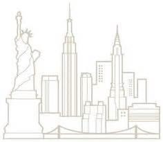 new york schlafzimmerdekor nyc skyline outline new york city skyline silhouette