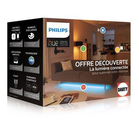 Lu Philips Hue philips lance un pack complet de la gamme hue